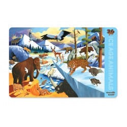 Placemats 36 Ice Age Animals