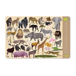 Placemats 36 Wild Animals