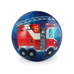 10 cm Play Ball Fire Truck
