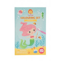 Colouring Sets Mermaids