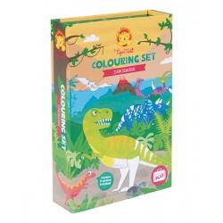 Colouring Sets Dinosaur