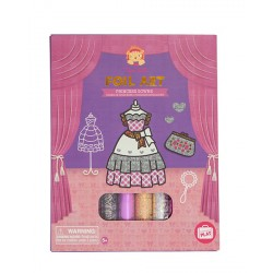 Foil Art Princess Gowns
