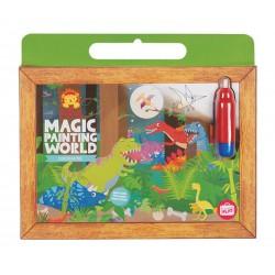 Magic Painting World Dinosaurs