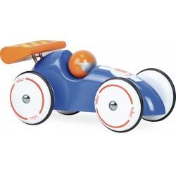 Rennwagen XL Blau-Orange