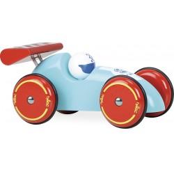 Rennwagen XL Türkis-Blau