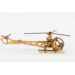 Helikopter gelb
