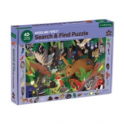 Search & Find Puzzle Woodland