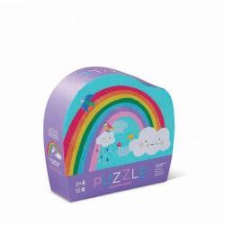 12 pc Mini Puzzle Rainbow