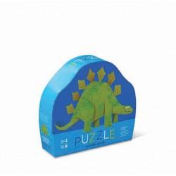12 pc Mini Puzzle Stegosaurus