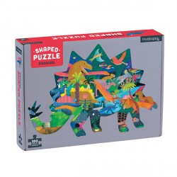 300 PC Shaped Puzzle Dinosaurs