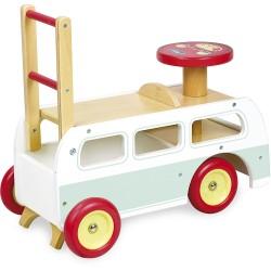 Retrobus 2 in 1 Lauflernwagen