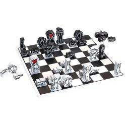 Schachspiel Keith Haring
